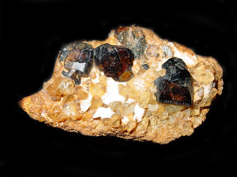 Topaz, Cassiterite