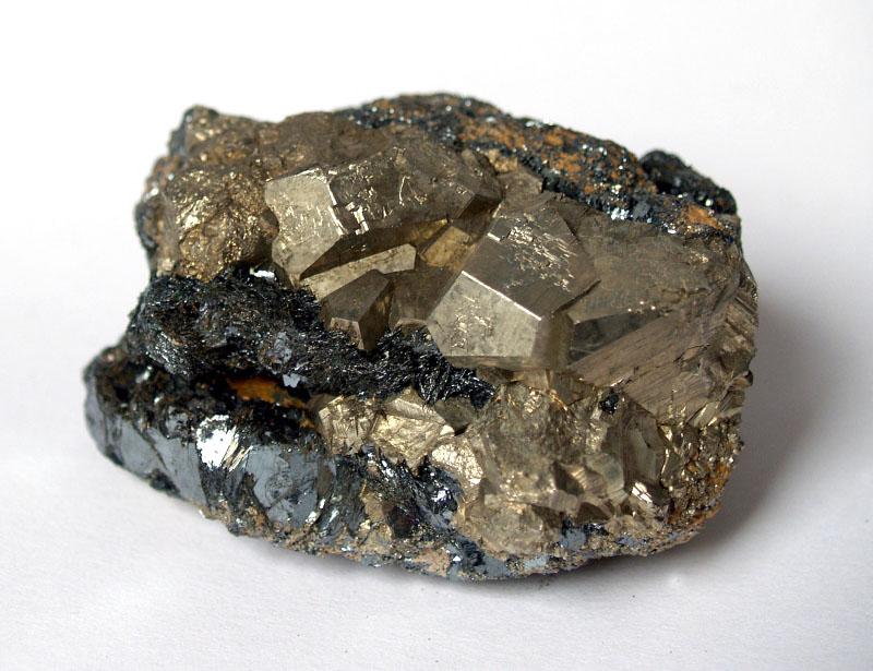 Hematit, Pyrit