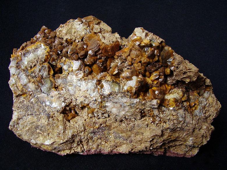 Calcite, Ankerite, Baryte