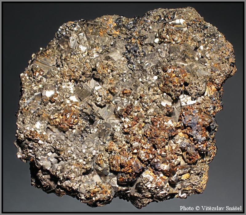 Pyrit, Arzenopyrit, Sfalerit, Galenit