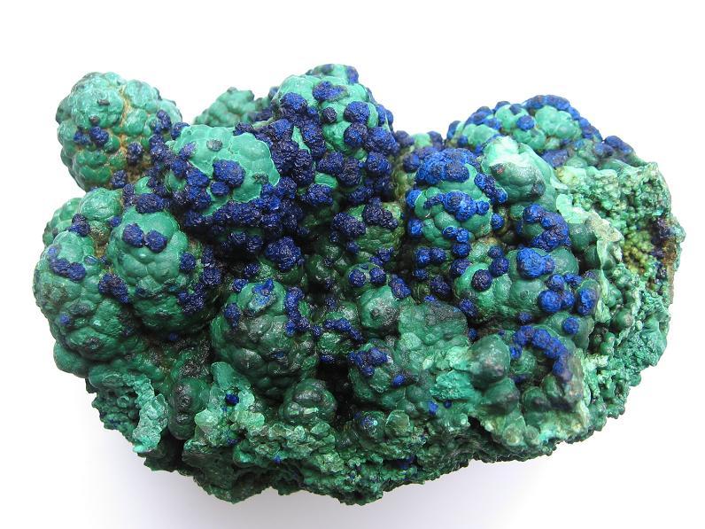 Malachite, Azurite