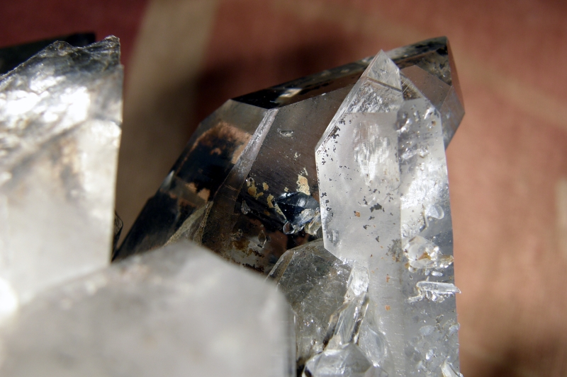 Quartz (var. Rock Crystal), Anatase