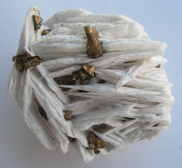 Baryte, Chalcopyrite
