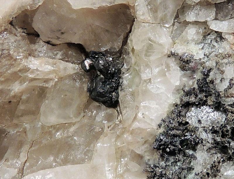 Pyragyrite, Rammelsbergite, Calcite