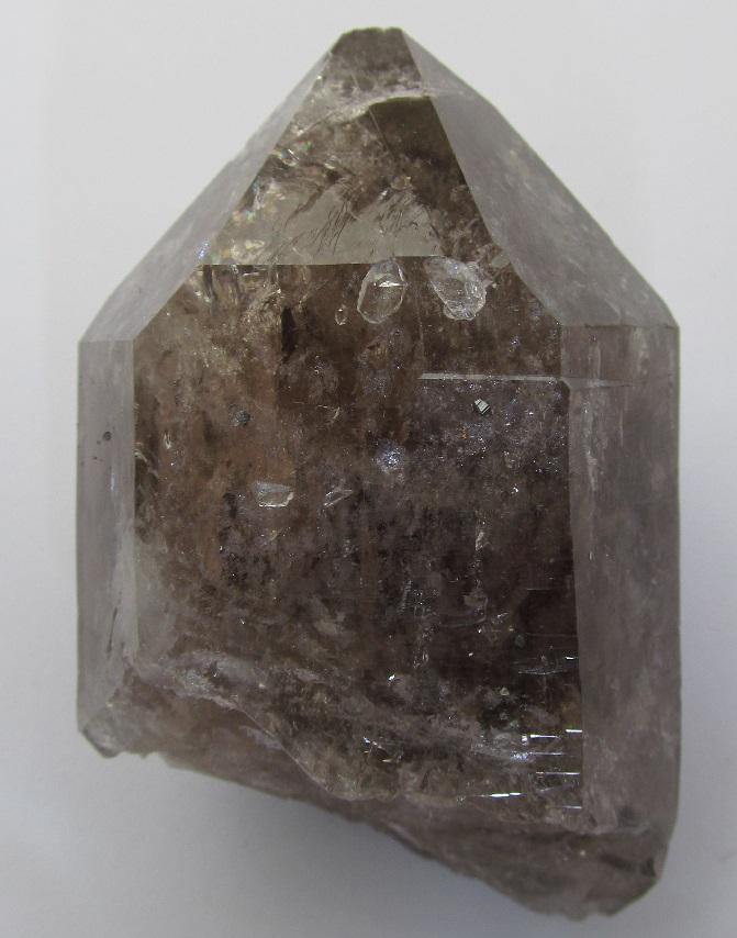 Quartz (var. Smoky), Anatase