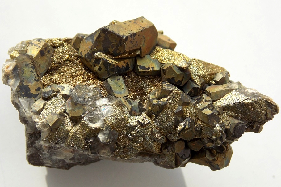 Calcite, Pyrite