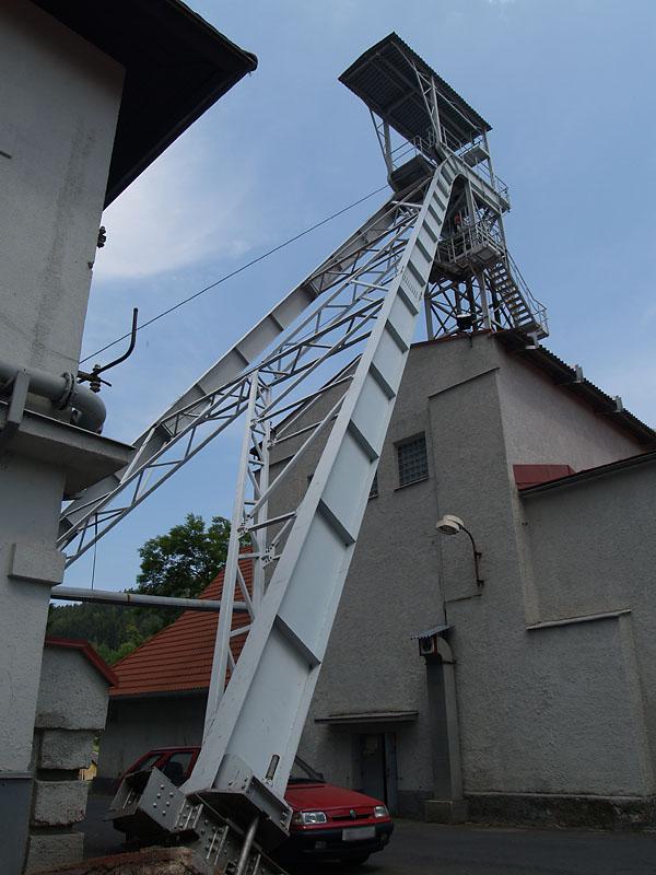Jáchymov, jáma Svornost, Czech Republic