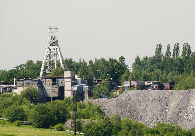 Rožná R-1, důl KHB, Czech Republic