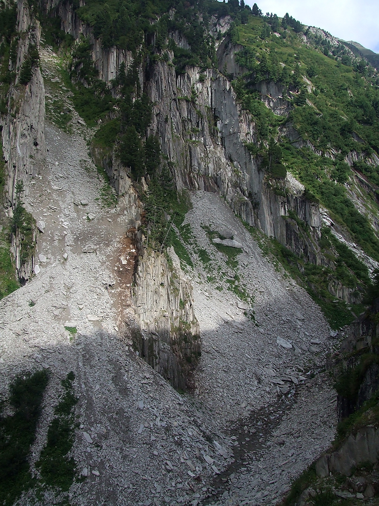 Cavradischlucht, Sedrun, Švýcarsko